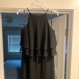 Black, Long Bridesmaid/Formal Dress
